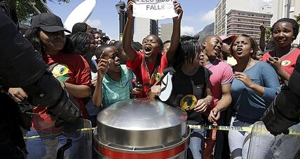 Flush from tuition win, S. African female students take on patriarchy