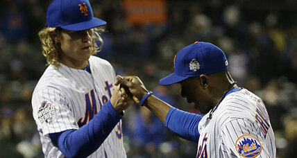 On Halloween, pitching keeps New York Mets in the World Series hunt