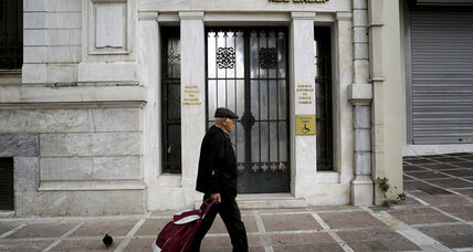 European Central Bank: Greek banks need $15.8 billion to get back on track