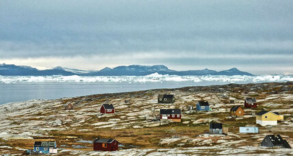 I find warmth in Greenland
