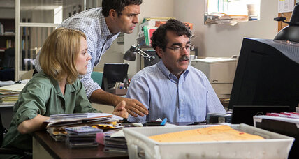 'Spotlight' is hard-hitting but has too many journalism tropes