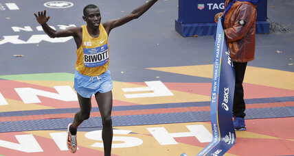 Kenya's Stanley Biwott, Mary Keitany win at New York City Marathon