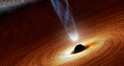 Does time run backward inside black holes?