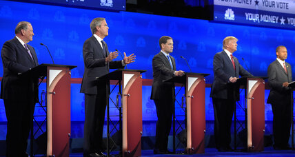 Will the setup for Republican presidential debates change?
