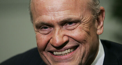 Fred Thompson: Principled lawyer, senator, and Hollywood actor (+video)