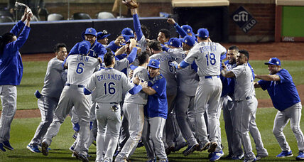 Kansas City Royals win World Series in 12-inning duel