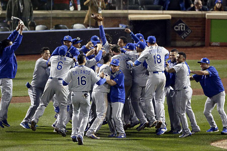 Kansas City Royals win World Series in 12-inning duel