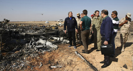 What caused Egypt crash? Russian airline claims 'external' factor