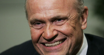 Fred Thompson's integrity won admiration from both sides of political aisle