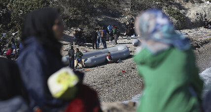 Even as winter looms in Aegean, refugees brave Turkey-Greece crossing