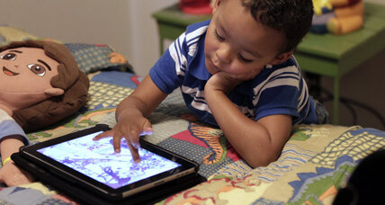 Toddlers and touch screens: parents' helpers or 'digital candy'?
