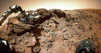 Smog on Mars? How acidic fog melted Martian rocks