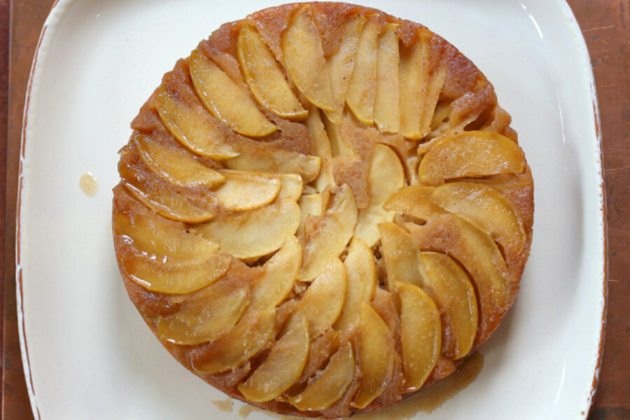 Apple Upside Down Cake Recipe America