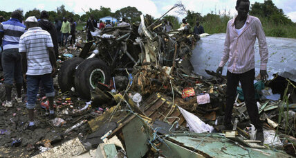 Russian-built plane crashes in South Sudan