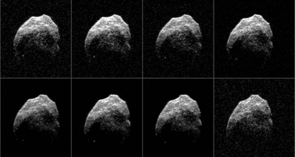 NASA releases Halloween asteroid photos. What happened to skull face?