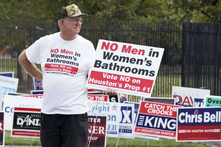 Houston 'bathroom bill': What it says about transgender issues in US