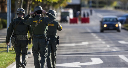 4 stabbed, attacker killed at California university campus