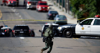 San Diego standoff: Police coax active shooter into peaceful surrender