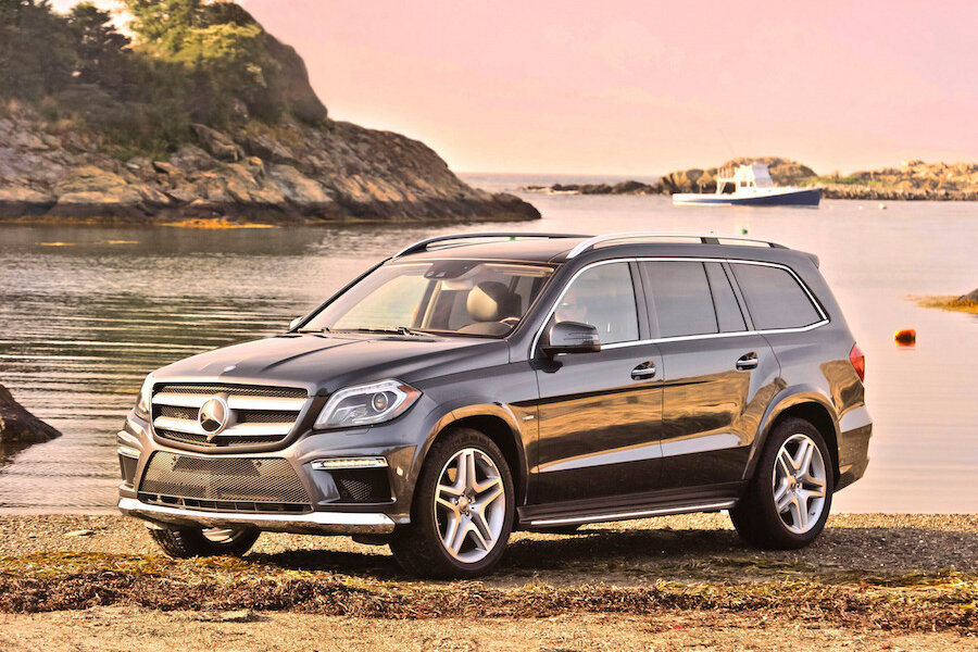 Mercedes Gls Suv Aims For Better Efficiency Handling Over Gl Cl Predecessors