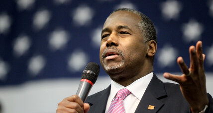 How Ben Carson became leader in war against 'political correctness'