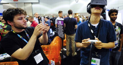 Virtual reality goggles are  ready for your living room