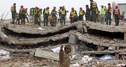 Pakistan factory collapse: Another wake-up call? (+video)