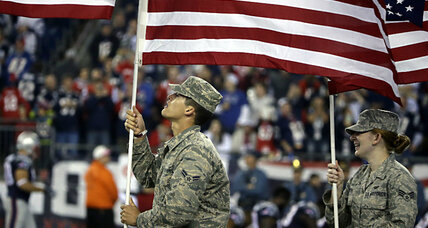 Report: Pentagon paid sports teams millions for staged patriotism