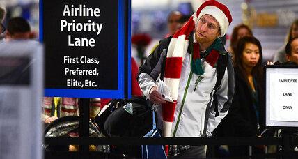 Blame the improving economy for Thanksgiving airport crowds