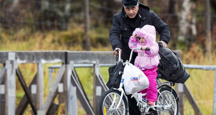 Syrians try unusual, but safer, route to Europe: Bicycling into Norway