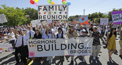 Same-sex couples and their children may no longer be welcome in Mormon church