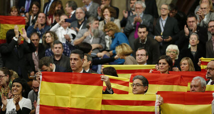 Defiant Catalonia lawmakers vote to start secession from Spain (+video)