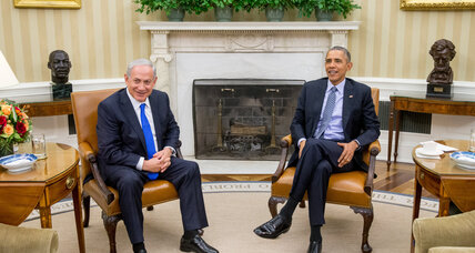 Obama, Netanyahu minimize differences, renew call for peace (+video)