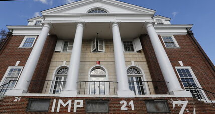 Virginia fraternity sues Rolling Stone over rape story