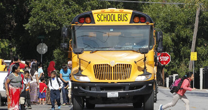 California school bus service eyes biometric technology for pupils