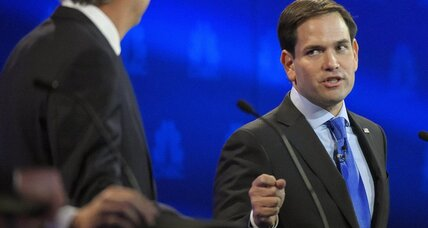 Why is Jeb Bush going after Marco Rubio?