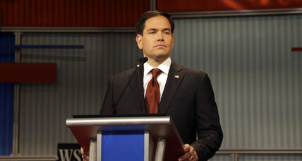 The Marco Rubio debate moment that worries Democrats