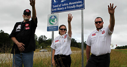 KKK tries to adopt a highway in Georgia: Is that protected free speech?