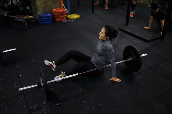 kim jin ah 31 rests as she takes part in a crossfit class at a gym in seoul september 11 2015 these five gym memberships might be cheaper than you