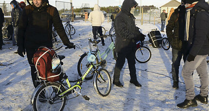 Why Syrians are paying top dollar for children's bikes in Russia