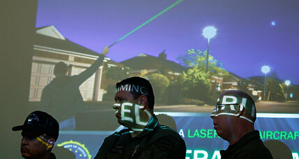 Twenty aircraft hit with lasers overnight. What's the FBI doing? (+video)