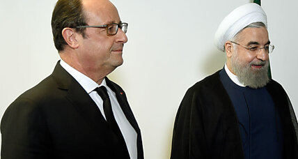 Why France demanded to serve wine at meal with Iran's leader