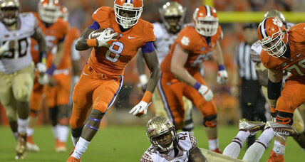 College football TV schedule: Clemson still top cat, Baylor-Okla. top game