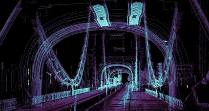 Ghostly 3-D scans of London aim to show 'inner life' of a self-driving car