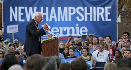 Is Bernie Sanders eligible to run in New Hampshire?