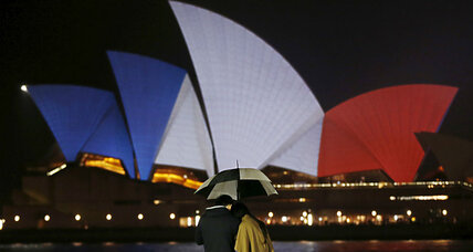 Solidarity in symbols: World responds with light to Paris attacks