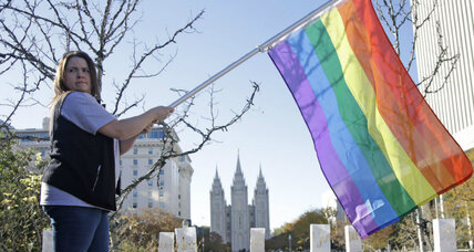 Mormons resign in struggle over gay marriage rules