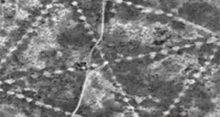 What's with those mysterious shapes NASA photographed in Kazakhstan?