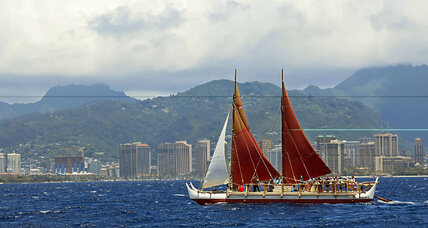 Epic journey: Around the world in a Hawaiian canoe
