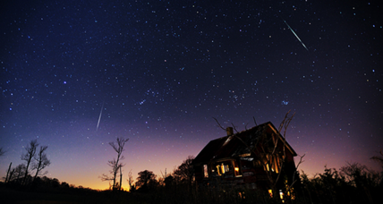 Leonid meteor shower peaks overnight