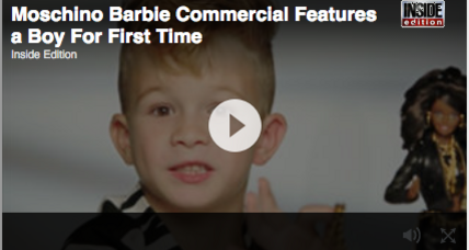 Barbie ad stars a boy for the first time. The end of gendered toys?